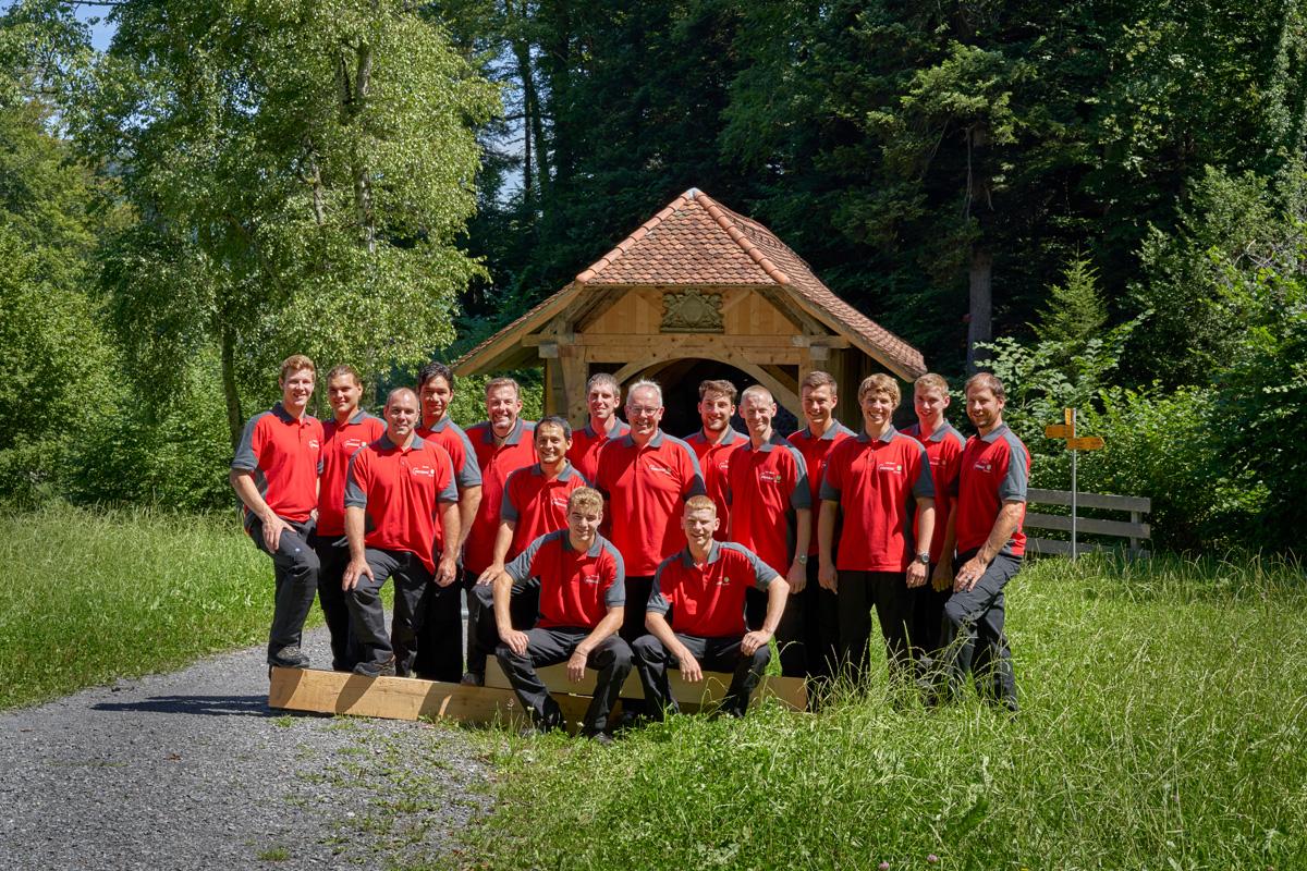 Bucher Zimmerei Team